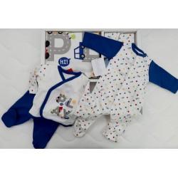 Бебешки комплект за изписване от 10 части код:66