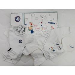 Бебешки комплект за изписване от 10 части код:67