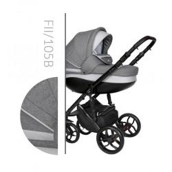 Комбинирана количка Baby Merc Faster 2 col.105B  2 в 1