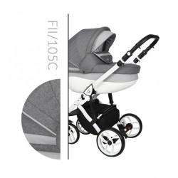 Комбинирана количка Baby Merc Faster 2 col.105C  2 в 1
