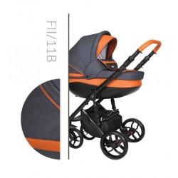 Комбинирана количка Baby Merc Faster 2 col.11B  2 в 1