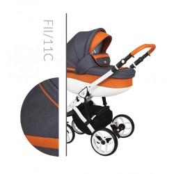 Комбинирана количка Baby Merc Faster 2 col.11C  2 в 1