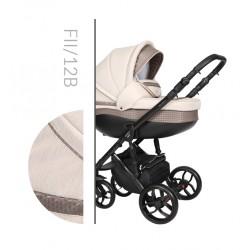 Комбинирана количка Baby Merc Faster 2 col.12B  2 в 1