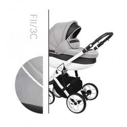 Комбинирана количка Baby Merc Faster 2 col.3C 3 в 1