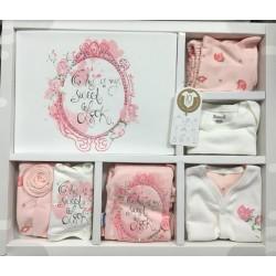 Miniworld Бебешки комплект 10 части за момиче