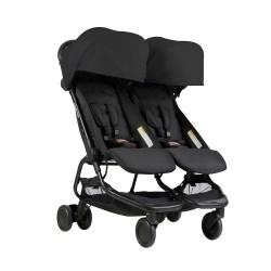 Mountain Buggy Nano Duo детска количка за близнаци - Black