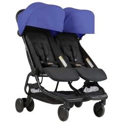 Mountain Buggy Nano Duo детска количка за близнаци - Nautical