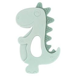 Чесалка силиконова Dinosaur Mint