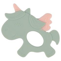 Чесалка силиконова Unicorn Mint
