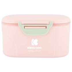 Кутия за съхранение на сухо мляко с лъжичка 130гр. Pink