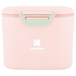 Кутия за съхранение на сухо мляко с лъжичка 160гр. Pink
