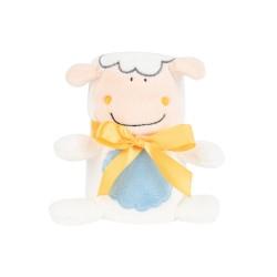 Бебешко одеяло с 3D бродерия Sheep