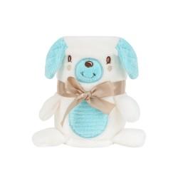 Бебешко одеяло с 3D бродерия Puppy