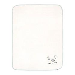 Бебешко одеяло полар с бродерия80/110Elephant Time