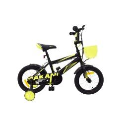 Makani Детски велосипед 14`` Diablo Black-Yellow